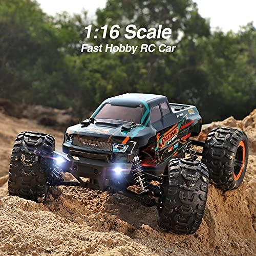 51tbA9zYVKS. AC  - HAIBOXING 1:16 Scale RC Cars 16889, 36Km/h high Speed Hobby Remote Control Car with 2.4GHz Radio Controller, All Terrain Waterproof Off-Road RC Trucks with 2 Batteries for Kids and Adults