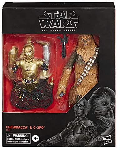 """51u o7aPM1L. AC  - Star Wars The Black Series Chewbacca & C-3PO Toys 6"""" Scale The Empire Strikes Back Collectible Figures (Amazon Exclusive)"""