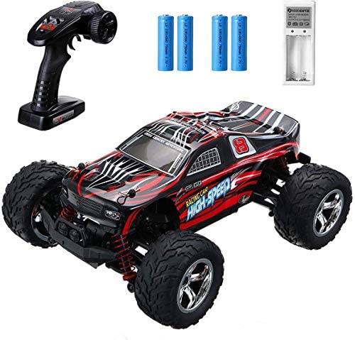 51vZmrozNOL. AC  - EACHINE Remote Control Car for Kids Adults,EC09 RC Car High Speed 1:20Scale 40+ KM/H 4WD Off Road Monster Trucks,2.4GHz All Terrain Toy Trucks with 2 Rechargeable Battery,40+ Min Play Gifts for Boys
