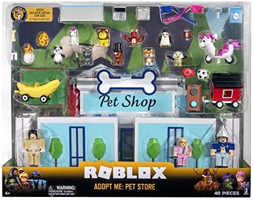 51vc+WrWD8L. AC  - Roblox Celebrity Collection - Adopt Me: Pet Store Deluxe Playset [Includes Exclusive Virtual Item]