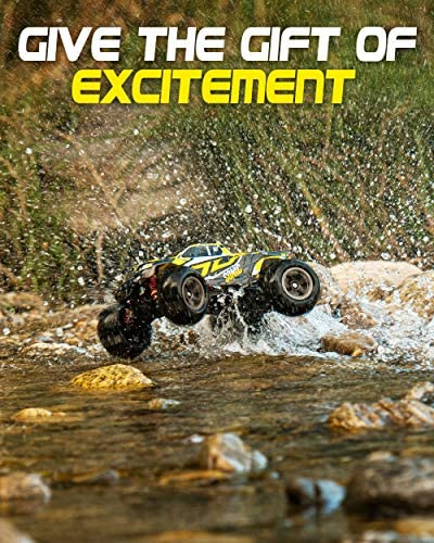 51xBcpDh+9L. AC  - 1:16 Brushless Large RC Cars 55+ kmh Speed - Kids and Adults Remote Control Car 4x4 Off Road Monster Truck Electric - All Terrain Waterproof Toys Trucks for Boys, Girls - 2 Batteries for 40+ Min Play