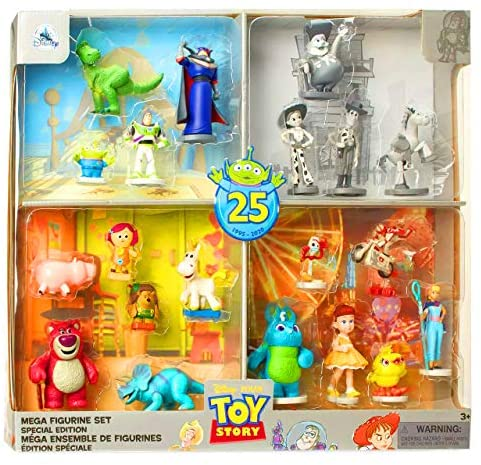 51xgBYEiFtL. AC  - Toy Story 25th Anniversary Action Figure Special Limited Edition Bundle