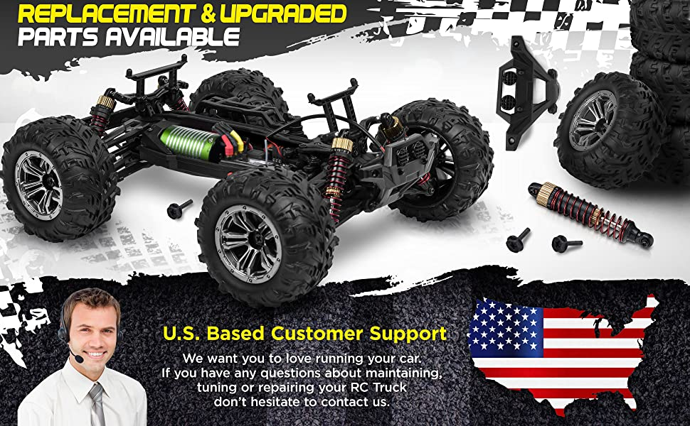 555eb15f eff0 4b73 b7e1 7dcc3b69e662.  CR0,0,3880,2400 PT0 SX970 V1    - 1:16 Brushless Large RC Cars 55+ kmh Speed - Kids and Adults Remote Control Car 4x4 Off Road Monster Truck Electric - All Terrain Waterproof Toys Trucks for Boys, Girls - 2 Batteries for 40+ Min Play