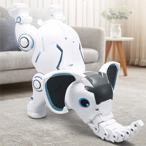 59783d1d 1bca 4c9d 925e a2ebe1565dd5.  CR0,0,300,300 PT0 SX300 V1    - WomToy Remote Control Robot Elephant Toy, RC Robotic Toys Singing Dancing Interactive Children Toy Early Educational Imitates Animals for Boys and Girls, Ages 3 and Up (Elephant)