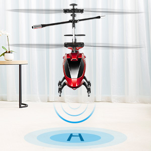 5b398698 47f0 42f7 a446 3b8bf99bab0a.  CR0,0,300,300 PT0 SX300 V1    - Remote Control Helicopter, S107H-E Aircraft with Altitude Hold, One Key take Off/Landing, 3.5 Channel, Gyro Stabilizer and High &Low Speed, LED Light for Indoor to Fly for Kids and Beginners(Red)