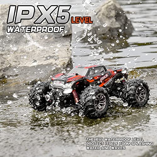 61D+loXSyVS. AC  - BEZGAR 5 Hobby Grade 1:20 Scale Remote Control Truck, 4WD High Speed 30+ Kmh All Terrains Electric Toy Off Road RC Monster Vehicle Car Crawler with Rechargeable Batteries for Boys Kids and Adults