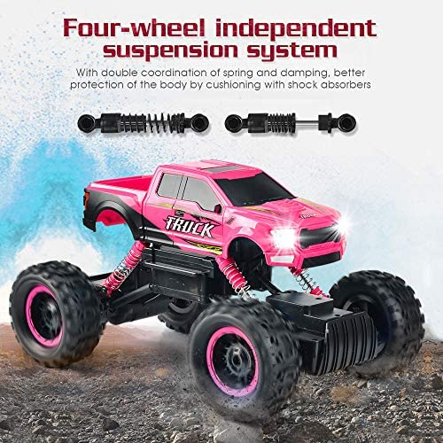 61Z96 eqeDL. AC  - DOUBLE E RC Cars Newest 1:12 Scale Remote Control Car with Rechargeable Batteries and Dual Motors Off Road RC Trucks,High Speed Racing Car for Kids