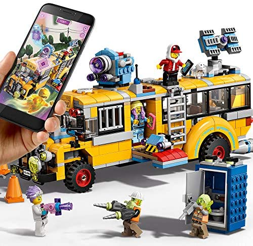 61piLf3 cWL. AC  - LEGO Hidden Side Paranormal Intercept Bus 3000 70423 Augmented Reality [AR] Building Kit with Toy Bus, Toy App Allows for Endless Creative Play with Ghost Toys and Vehicle (689 Pieces)