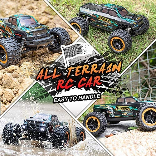 61ugasWxaWL. AC  - HAIBOXING 1:16 Scale RC Cars 16889, 36Km/h high Speed Hobby Remote Control Car with 2.4GHz Radio Controller, All Terrain Waterproof Off-Road RC Trucks with 2 Batteries for Kids and Adults