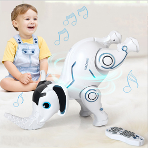 6b0c87da 9039 416e 94c1 bb1a941144b2.  CR0,0,300,300 PT0 SX300 V1    - WomToy Remote Control Robot Elephant Toy, RC Robotic Toys Singing Dancing Interactive Children Toy Early Educational Imitates Animals for Boys and Girls, Ages 3 and Up (Elephant)