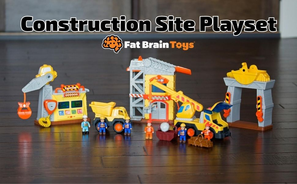 6f88c527 a98f 4af1 85c0 28af15a5d6f4.  CR0,0,970,600 PT0 SX970 V1    - Fat Brain Toys Construction Site Playset Imaginative Play for Ages 3 to 4