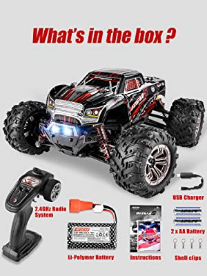 6f903648 138c 4dd1 8ee8 8af6520c5a89.  CR0,0,3000,4000 PT0 SX300 V1    - BEZGAR 5 Hobby Grade 1:20 Scale Remote Control Truck, 4WD High Speed 30+ Kmh All Terrains Electric Toy Off Road RC Monster Vehicle Car Crawler with Rechargeable Batteries for Boys Kids and Adults