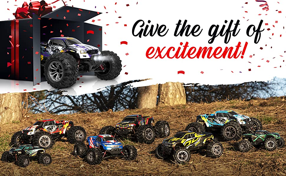 7d67e09a 6d97 4151 b558 aaf3752a51ea.  CR0,0,3880,2400 PT0 SX970 V1    - 1:10 Scale Large RC Cars 48+ kmh Speed - Boys Remote Control Car 4x4 Off Road Monster Truck Electric - All Terrain Waterproof Toys Trucks for Kids and Adults - 2 Batteries + Connector for 40+ Min Play