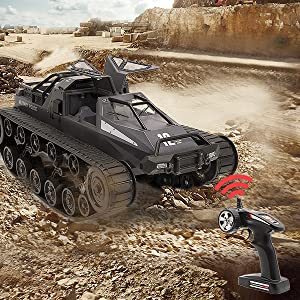 84717a82 c1ca 4b60 9c88 6d3fc14a0f81.  CR0,0,600,600 PT0 SX300 V1    - Mostop Remote Control Crawler High Speed Tank Off-Road 4WD RC Car 2.4 Ghz RC Army Truck 1/12 Drift Tank RC Tank for Kids Adults