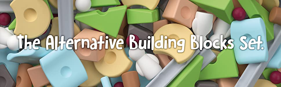 8d066c1c 73d4 4251 bf31 c02a23aa6b75. CR0,0,1940,600 PT0 SX970   - Taksa Toys Resources Expert Pack 144 Pcs. – Alternative Educational Building Blocks Set / Creative Open-Ended Construction Toys for Kids / Nature Inspired Montessori Balancing and Stacking Blocks.