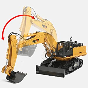 a3127144 cac8 45ae 9ec0 f11458a79e94.  CR0,0,600,600 PT0 SX300 V1    - Fisca Remote Control Excavator RC Digger, 2.4Ghz 11 Channel Construction Vehicle Full Function Toy Metal Shovel with Lights and Sound