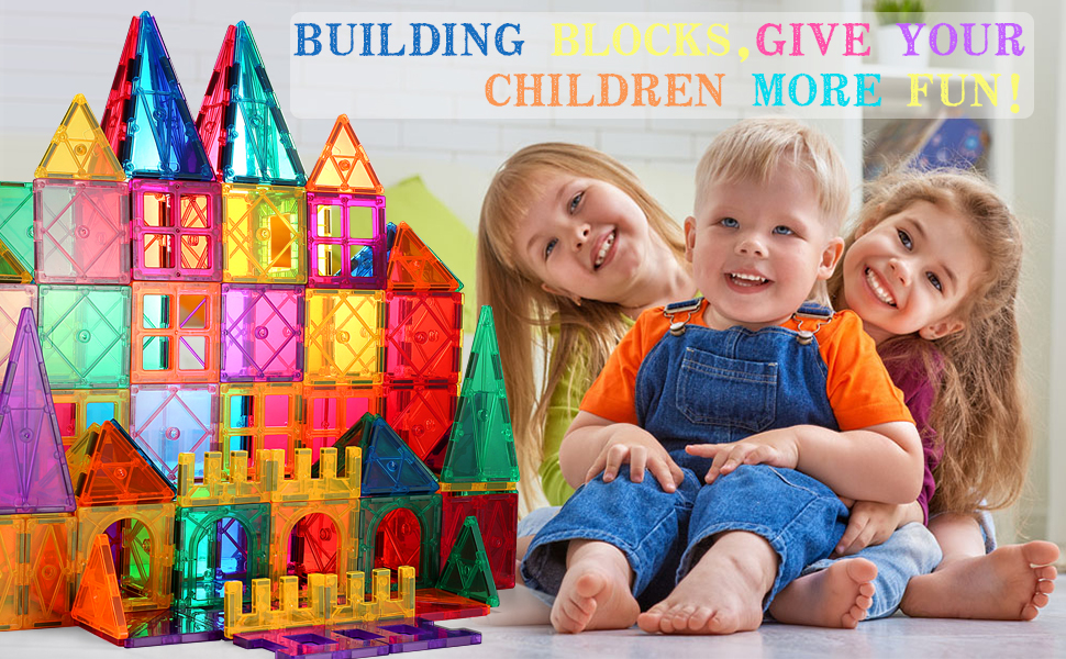 a3cfeebe a361 4bf7 902a 8aa4793a458d.  CR0,0,970,600 PT0 SX970 V1    - VATENIC 120PCS Kids Magnetic Tiles Building Blocks 2 Car Set Color Magnetic Blocks Toys for Kids Children,Educational Learning Building Toys Birthday Gifts for Boys Girls Age 3 4 5 6 7 8 9 10 Year Old