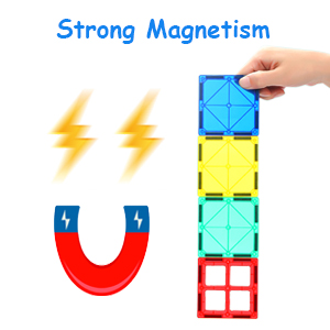 b2be24c0 e904 41f2 ae0d 25478edccc7e.  CR0,0,300,300 PT0 SX300 V1    - MagHub 150PCS Kids 3D Magnetic Building Blocks with Car Alphabet, Magnetic Tiles Shape Set, Magnet Toys Construction Playboards, Learning Educational Gifts for Preschool Toddler Children