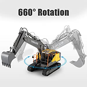 b4af402f fc21 44a2 9363 ce47560dfc51.  CR0,0,600,600 PT0 SX300 V1    - Mostop 3 in 1 Remote Control Excavator with 2 Tools 2.4G Construction Truck with Sounds 660 ° Rotation Toy for Kids