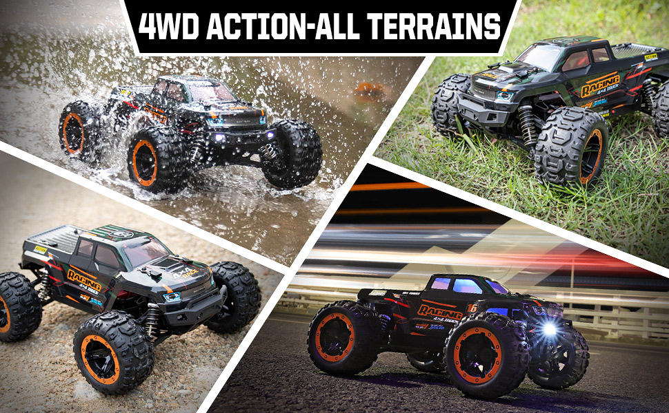 bc4f0e91 428f 4a3d 9304 fd32b6da2ac5.  CR0,0,970,600 PT0 SX970 V1    - Remote Control Car 16889, 1:16 Scale 2.4Ghz RC Cars 4x4 Off Road Trucks, Waterproof RTR RC Monster Truck 36KM/H, Remote Controlled Toys for Kids and Adults with 2 Batteries 35+ mins Play