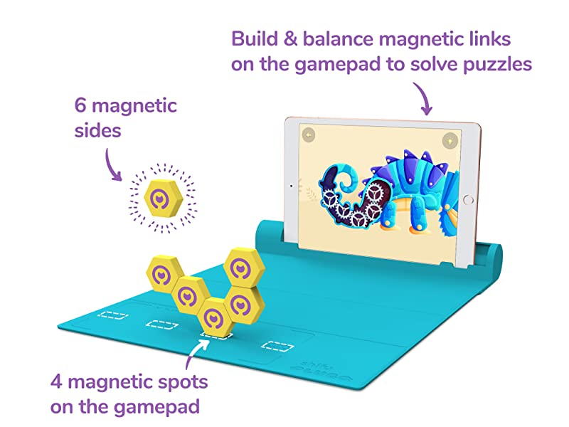 c177a1dc 2cb6 467d 9f07 910973592fb8.  CR0,0,2048,1536 PT0 SX800 V1    - Shifu Plugo Link - Construction Kit with Puzzles, Augmented Reality Stem Toy   Fun Magnetic Building Blocks   Educational Engineering, Ages 5 - 10 Year Old Boys & Girls (App Based)