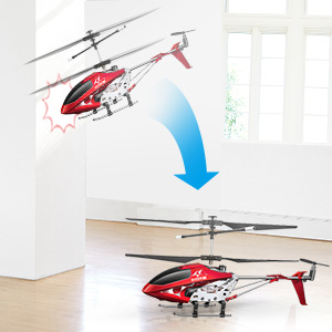c2c93ae0 855b 48be 8741 2037804b34c5. CR0,0,300,300 PT0 SX300   - Remote Control Helicopter, S107H-E Aircraft with Altitude Hold, One Key take Off/Landing, 3.5 Channel, Gyro Stabilizer and High &Low Speed, LED Light for Indoor to Fly for Kids and Beginners(Red)