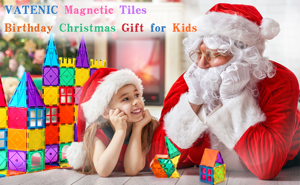 c392e296 1a95 44b8 a9d9 0210940311eb.  CR0,0,970,600 PT0 SX970 V1    - VATENIC 120PCS Kids Magnetic Tiles Building Blocks 2 Car Set Color Magnetic Blocks Toys for Kids Children,Educational Learning Building Toys Birthday Gifts for Boys Girls Age 3 4 5 6 7 8 9 10 Year Old