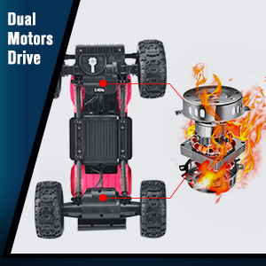 c6704330 33b1 4a8a 88f2 1a2229d51ac1. CR0,0,300,300 PT0 SX300   - DOUBLE E RC Cars Newest 1:12 Scale Remote Control Car with Rechargeable Batteries and Dual Motors Off Road RC Trucks,High Speed Racing Car for Kids
