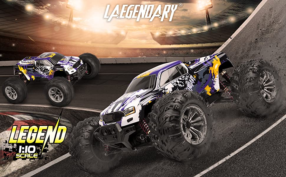 c73632a8 d862 4a82 8318 6a86fb129117.  CR0,0,3880,2400 PT0 SX970 V1    - 1:10 Scale Large RC Cars 48+ kmh Speed - Boys Remote Control Car 4x4 Off Road Monster Truck Electric - All Terrain Waterproof Toys Trucks for Kids and Adults - 2 Batteries + Connector for 40+ Min Play