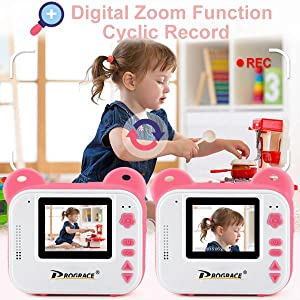 e6feeb4d be20 43dd 8c91 9f419f391b52.  CR0,0,600,600 PT0 SX300 V1    - PROGRACE Kids Print Camera Instant Print Camera for Kids Travel Learning Birthday Gift Portable Digital Creative Print Camera for Girls Zero Ink Kids Camera Toy Toddler Camera with Print Paper(Pink)