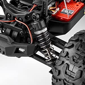 f58d89fa 9628 40c8 ab9b 5f5774f20e37.  CR0,0,2700,2700 PT0 SX300 V1    - BEZGAR 7 Hobby Grade 1:16 Scale Remote Control Truck, 4WD High Speed 40+ Kmh All Terrains Electric Toy Off Road RC Monster Vehicle Car Crawler with Rechargeable Batteries for Boys Kids and Adults