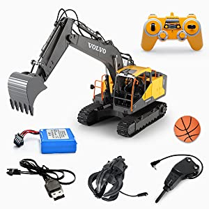 f9649953 144b 49c8 8bf3 b289d6c291c5.  CR0,0,600,600 PT0 SX300 V1    - Mostop 3 in 1 Remote Control Excavator with 2 Tools 2.4G Construction Truck with Sounds 660 ° Rotation Toy for Kids
