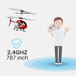fbcee72c 7da9 42d5 bc08 b29f2e0d6663. CR0,0,300,300 PT0 SX300   - Remote Control Helicopter, S107H-E Aircraft with Altitude Hold, One Key take Off/Landing, 3.5 Channel, Gyro Stabilizer and High &Low Speed, LED Light for Indoor to Fly for Kids and Beginners(Red)