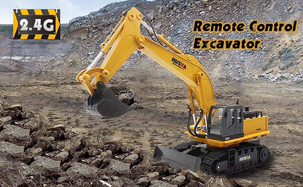 fc4771de b961 47ca 8c36 f10e77bff96f.  CR0,0,970,600 PT0 SX970 V1    - Fisca Remote Control Excavator RC Digger, 2.4Ghz 11 Channel Construction Vehicle Full Function Toy Metal Shovel with Lights and Sound