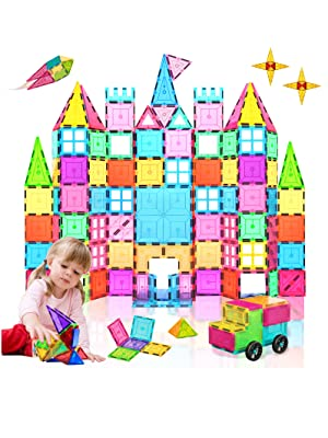 0d05bbce 6cab 4c32 bbad f5e00b2bbfd7.  CR2,0,1596,2128 PT0 SX300 V1    - HOMOFY Kids Magnet Tiles Toys 2021 New Upgrade 120Pcs 3D Magnetic Building Blocks Magnetic Tiles, Inspiration Educational Building Construction Learning Gifts for 3 4 5 6 Year Old Boys Girls
