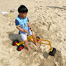 1ca5e574 1aa4 4f1c 80d4 816ba45d1dba.  CR0,0,1600,1600 PT0 SX220 V1    - Hand-Mart Ride On Sand Digger with Wheels, Sandbox for Kids, Play Toy Excavator Crane with 360° Rotatable Seat for Sand, Snow and Dirt, Heavy Duty Steel Digging Toys for Boys Girls Outdoor