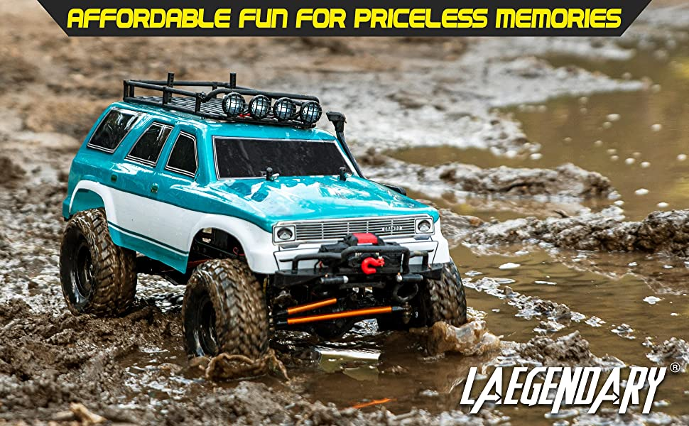 2b63e46b 465b 40ca 83a8 0fe58c48c33d.  CR0,0,3880,2400 PT0 SX970 V1    - 1:10 Scale Large RC Rock Crawler - 4WD Off Road RC Cars - Remote Control Car 4x4 Electric Truck - IPX5 Waterproof Trucks for Adults - RTR with 5Ch Remote, Battery and Charger