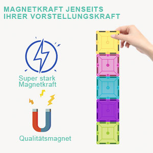 2f007d63 9234 41c0 934b 67c2ef7a4e05.  - HOMOFY Kids Magnet Tiles Toys 2021 New Upgrade 120Pcs 3D Magnetic Building Blocks Magnetic Tiles, Inspiration Educational Building Construction Learning Gifts for 3 4 5 6 Year Old Boys Girls