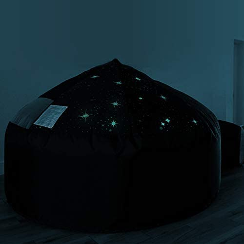 3130 pRAdJL. AC  - The Original AirFort Build A Fort in 30 Seconds, Inflatable Fort for Kids (Starry Night)