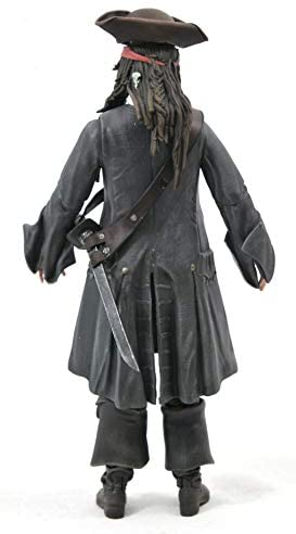 31br71cx5nL. AC  - DIAMOND SELECT TOYS Pirates of The Caribbean: Dead Men Tell No Tales: Jack Sparrow Action Figure