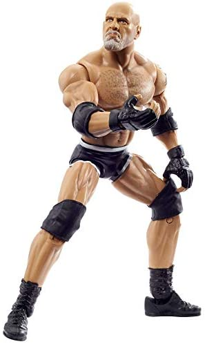 41+0AtR6 bL. AC  - WWE Wrestlemania 37 Elite Collection Goldberg Action Figure with Universal Championship and Paul Ellering and Rocco BuildAFigure Pieces6 in Posable Collectible Gift Fans