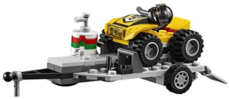 41 1zQUZHpL. AC  - LEGO City ATV Race Team 60148 Building Kit with Toy Truck and Race Car Toys (239 Pieces) (Discontinued by Manufacturer)
