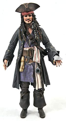 41 wI3RdT+L. AC  - DIAMOND SELECT TOYS Pirates of The Caribbean: Dead Men Tell No Tales: Jack Sparrow Action Figure