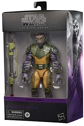 """410Fv3XCiwL. AC  - Star Wars The Black Series Garazeb """"Zeb"""" Orrelios Toy 6-Inch-Scale Star Wars Rebels Collectible Deluxe Action Figure, Kids Ages 4 and Up"""