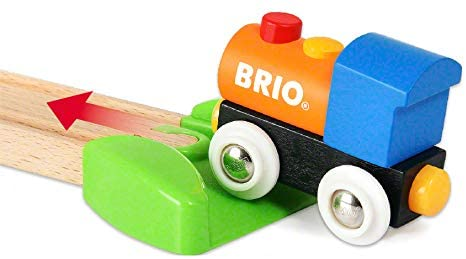 414jRayi15L. AC  - Brio World - 33826 My First Farm   12 Piece Wooden Toy Train Set for Kids Ages 18 Months and Up
