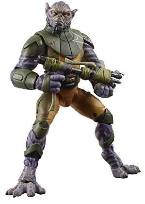 """414mnsQpveL. AC  - Star Wars The Black Series Garazeb """"Zeb"""" Orrelios Toy 6-Inch-Scale Star Wars Rebels Collectible Deluxe Action Figure, Kids Ages 4 and Up"""