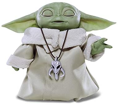 414zGxIYZAL. AC  - Star Wars The Child Animatronic Edition 7.2-Inch-Tall Toy by Hasbro with Over 25 Sound and Motion Combinations, Toys for Kids Ages 4 and Up