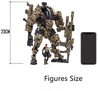 417Pf3t3ndL. AC  - JOYTOY 1/25 Action Figures Steel Bone Attack Mecha H03 Camouflage Anime Figure Collection Modern Military Model Dark Source Toys
