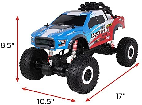 41DIGFvCrtS. AC  - NKOK Mean Machines 4x4 Offroad Xtreme RC Ford F-150 Raptor