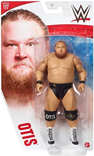 41E25vgPBYL. AC  - WWE Otis Action Figures, Posable 6-in Collectible for Ages 6 Years Old & Up